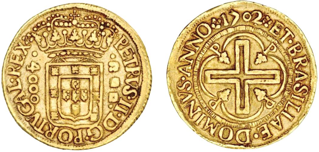 Moedas de Ouro Brasileiras Raras