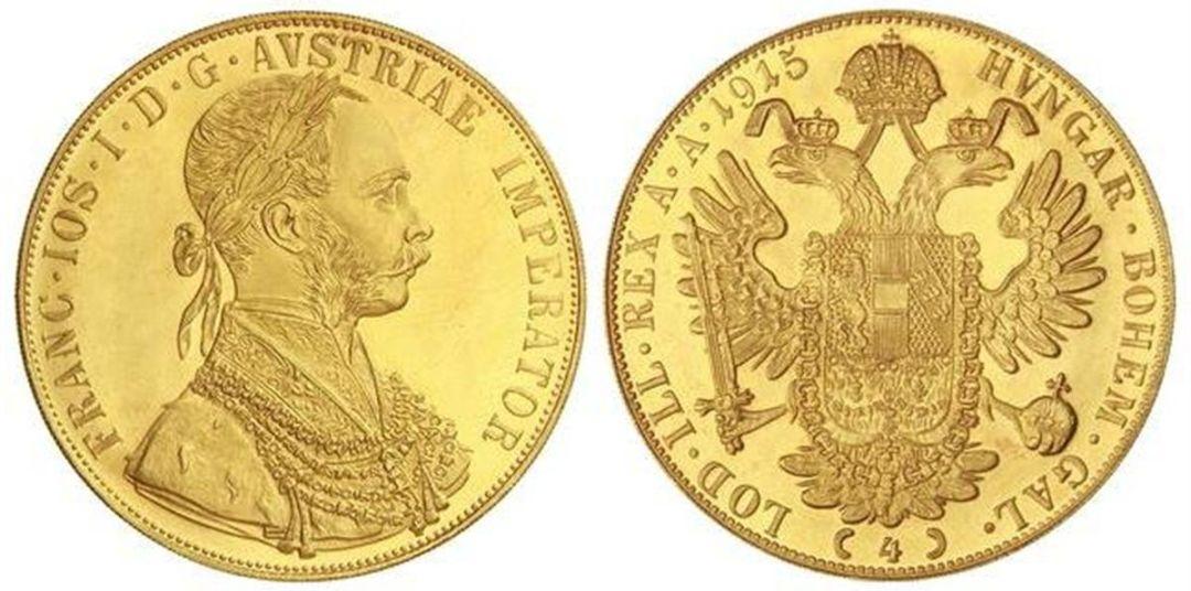moeda de ouro 4 ducados