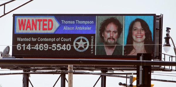 Thomas Thompson Procurado